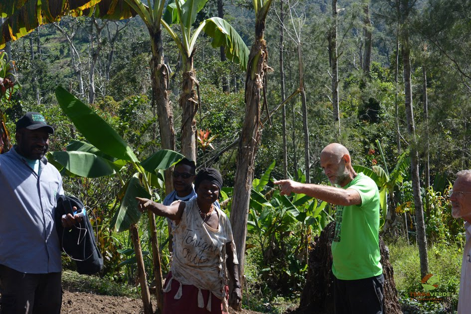 TERRAVEDE rural development project in western Papua New Guinea
